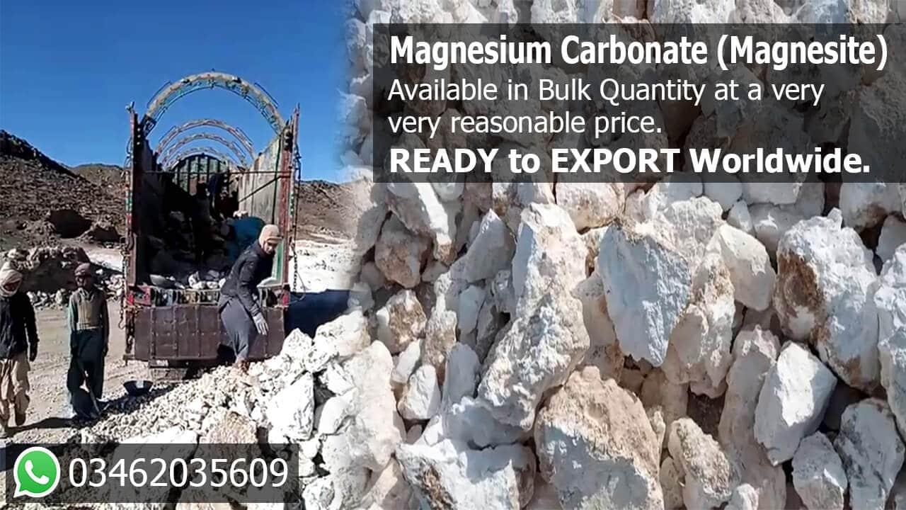 Magnesium Carbonate Supplier in Pakistan